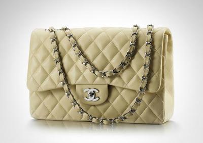 Bolso Chanel 2.55 amarillo pastel