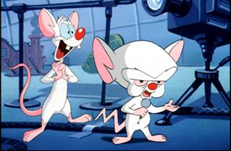 Pinky & The Brain. No copyrights claimed by Worship Melodies
