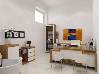 KUMPULAN DESAIN MODEL RUANG KERJA KLASIK MINIMALIS Gambar Ruang Kamar Kerja Terbaru