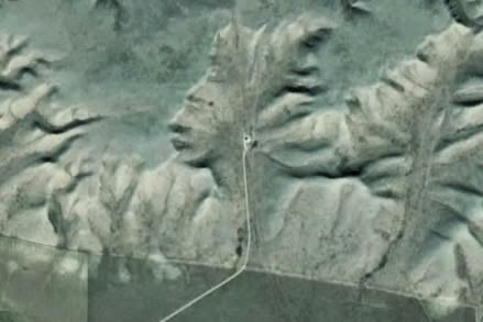 The Badlands Guardian 7th unusual Google Earth discovery