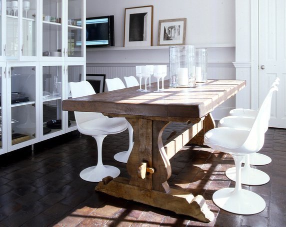 Sherri cassara designs modern farmhouse tables for Modern farmhouse table plans