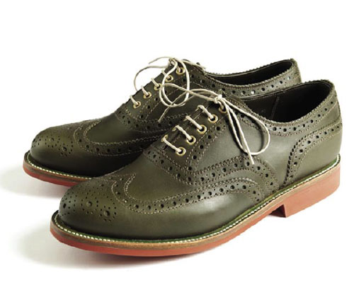 grenson barbour brogues shoes