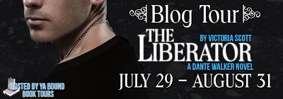 Blog Tour, Review and Giveaway: The Liberator by Victoria Scott (Dante Walker #2)