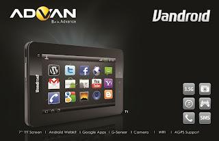 Daftar Harga Tablet Advan Terbaru Bulan Juli 2013