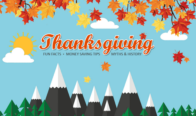 Thanksgiving Fun Facts and Money Saving Tips