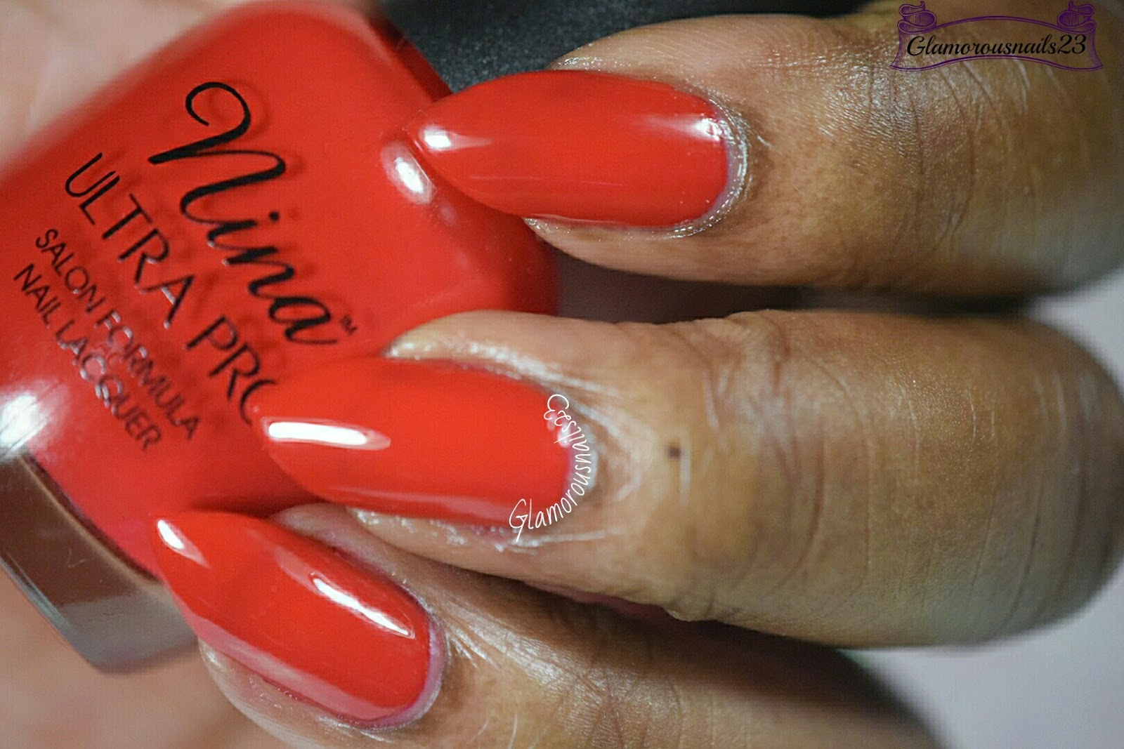 Nina Ultra Pro Red Fox - Glamorousnails23