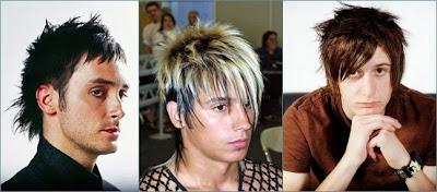 gaya rambut emo pria terbaru