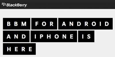 """Hace unos días se filtró el manual de la aplicación BBM para usuarios de los sistemas operativos Android e iOS, aunque rápidamente fueron retirados del alcance de cualquier """"navegante de la Red"""". En esta ocasión es el """"landing page"""" lo que se ha filtrado y, de nuevo, se ha retirado rápidamente, para que nadie pueda acceder a ella. Por lo tanto, estamos ante la cada vez más cercana aparición de la aplicación para Android e iOS. Blackberry, como muchas otras compañías, está utilizando el """"marketing de la filtración"""". Se están encargando de, con cuentagotas, publicar una serie de """"cebos"""" para"""