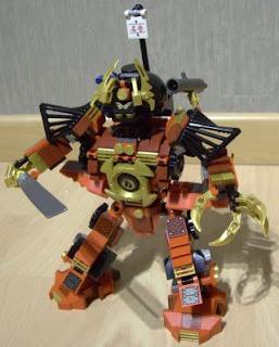 Lego Ninjago Masters of Spinjitzu robot