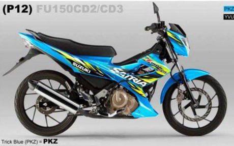 Suzuki satria FU 2013 sudah mualai di distribusikan?