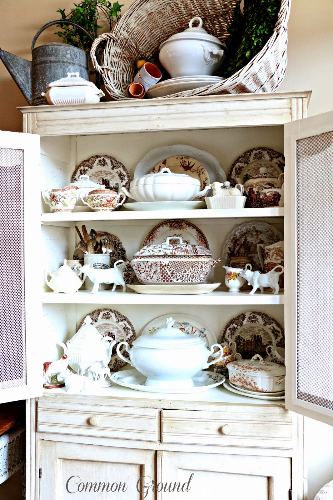 From My Front Porch To Yours Treasure Hunt Thursday- CommonGround Cabinet
