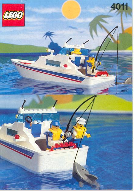Deconstructing Lego 4642 Fishing Boat