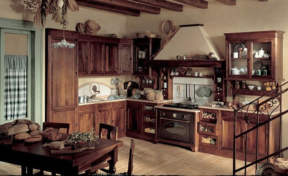 Decoraci n de interiores estilo rustico - Cocinas estilo rustico ...