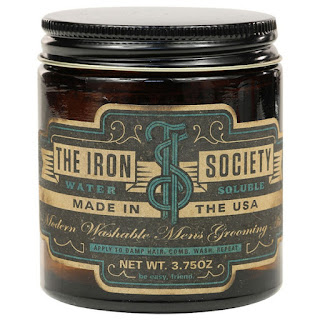 The Iron Society Water Based Soluble Pomade World Grande