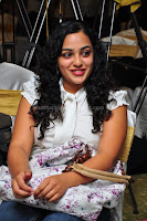 Nithya, menon, cute, gallery, in, an, event