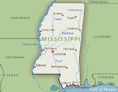 map of mississippi river. 2010 Map of Mississippi River
