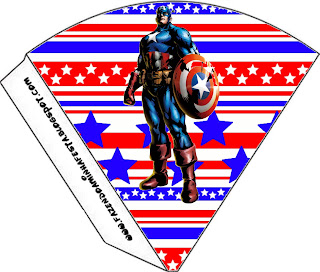 Captain America: Free Party Printables and Images. | Is it for PARTIES? Is it FREE? Is it CUTE ...