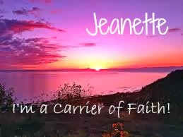 Check Out the CARRIER OF FAITH Blogs