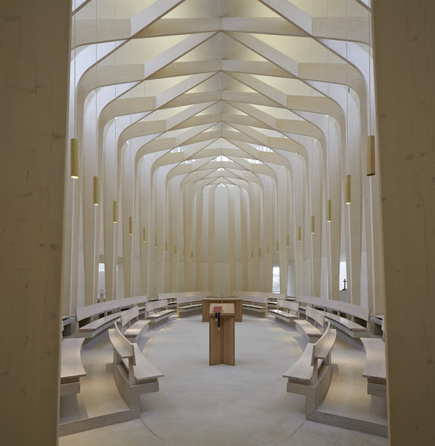 Bishop Edward King Chapel, Oxford by Níall McLaughlin Architects
