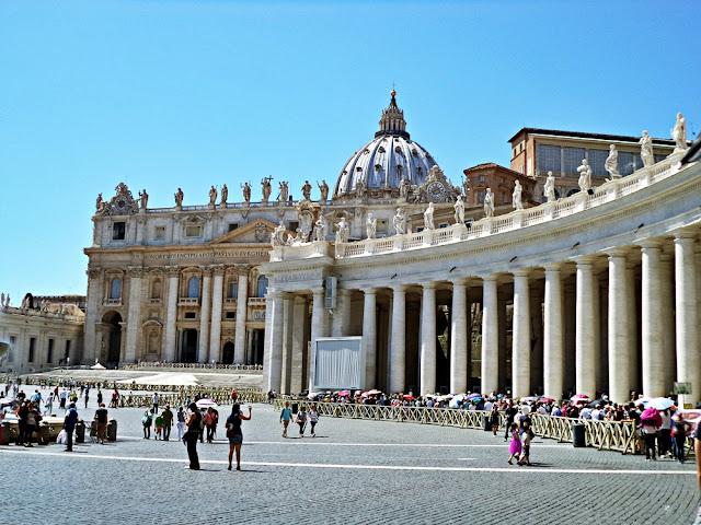 Włoskie wakacje #2 - Rzym + Watykan ♥