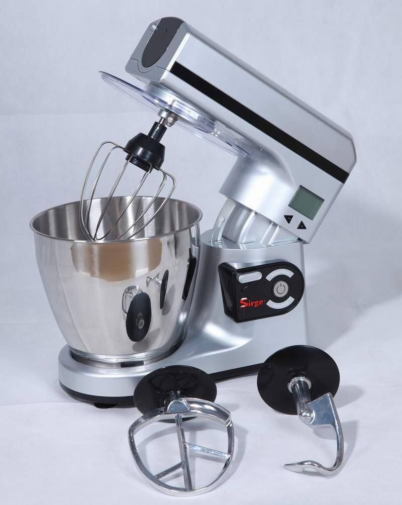 Elettrodomestici sirge impastatrice planetaria digitale - Impastatrice per pasta fatta in casa ...