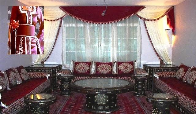 Salon marocaine moderne: Canapé de luxe pour salon marocain ...