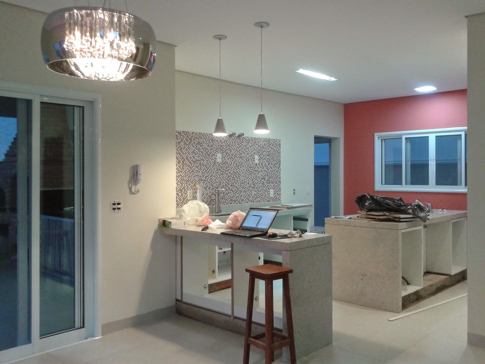 Lustre Simples Para Cozinha Cozinha Americana Foto Lustre Plafon