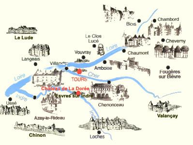Chateaux de la Loire: Le Château de Chenonceau