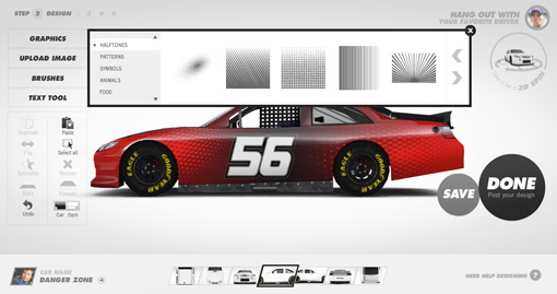 design your own race car music search engine at. Black Bedroom Furniture Sets. Home Design Ideas