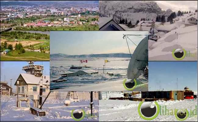 5 Tempat yang paling Luar Biasa dingin Sedunia