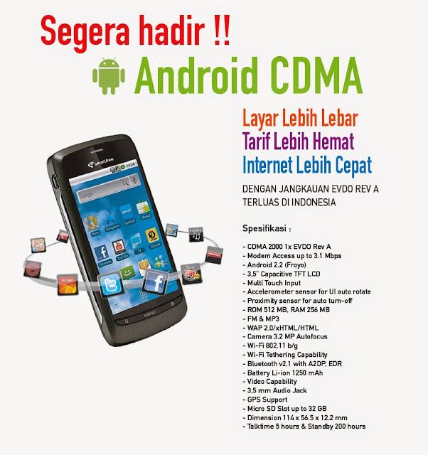Smartfren Android CDMA