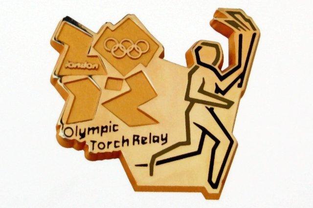 Pin de la antorcha olimpica, Juegos Olimpicos Londres 2012 London 2012