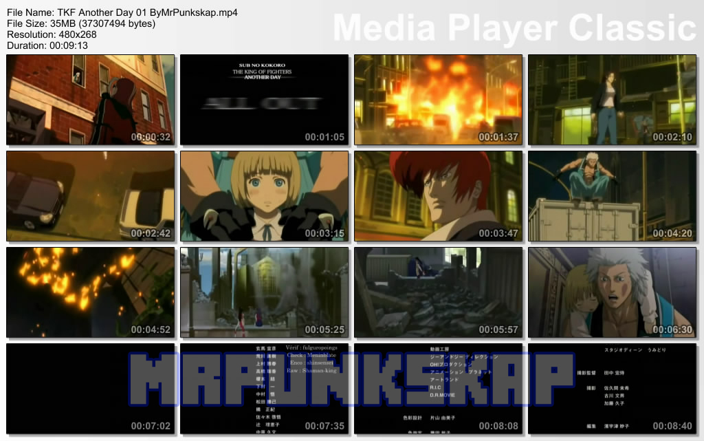 The King of Fighters: Another Day [4/4] [Latino] [DvdRip-Mp4] [ZS]