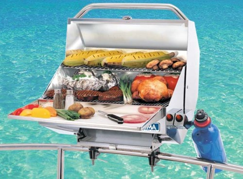 Magma Catalina grill for boaters reviewed