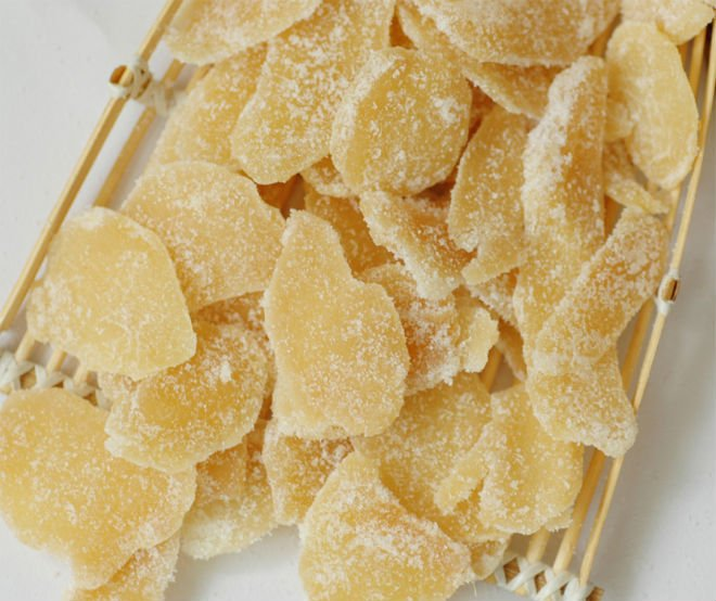 Candied Ginger Recipe Candied ginger. ingredients: 1 pound fresh ...