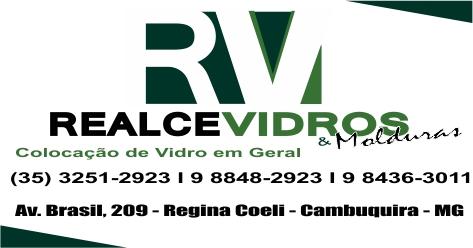 REALCE VIDROS E MOLDURAS