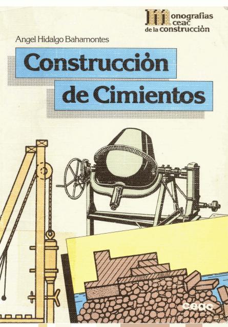 Libros Town Construcci N De Cimientos Hidalgo Bahamontes