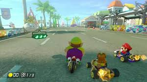 real mario kart online game