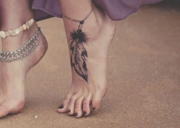 Hình Xăm Nghệ Thuật trên bàn chân đẹp độc nhất cho cả nam và nữ