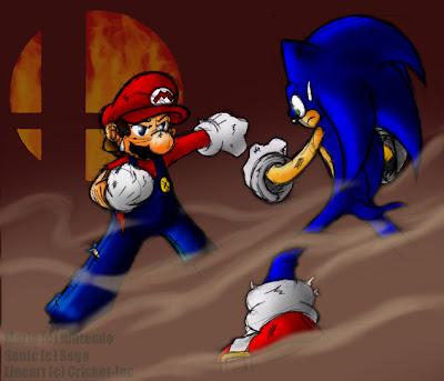 MANGA VS COMICS Mario vs Sonic
