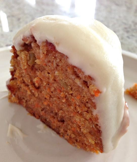 Kuki's Kookbook: Carrot Bundt Cake with Cream Cheese Frosting