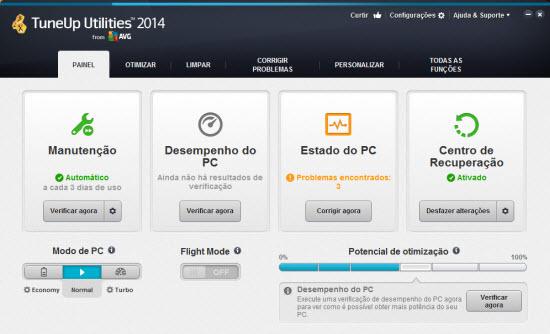 TuneUp Utilities 2014 + Serial / Ativação definitiva download
