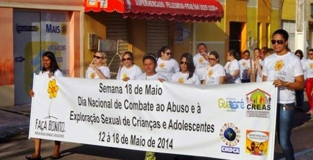 A ABERTURA OFICIAL DA SEMANA DO 18 DE MAIO COMEÇA COM UMA ALVORADA.