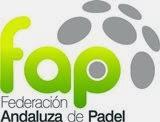 Logo de la Federación Andaluza de Pádel