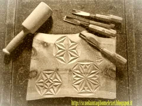 chipcarving intaglio nel legno