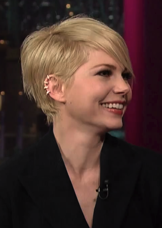 Undeclared Panache: Michelle Williams' Late Show Look