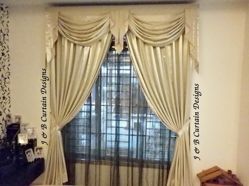 J B Curtain Designs Valance Galore