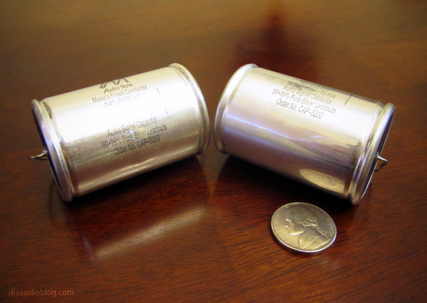 Film Capacitors For Audio Audio Note Mylar Film And Tin