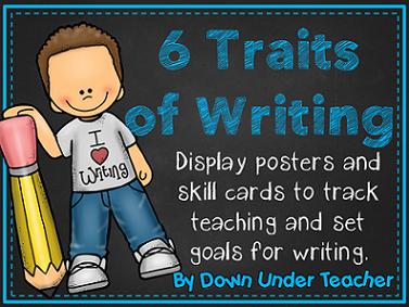 http://www.teacherspayteachers.com/Product/6-Six-Traits-VOICES-Writing-Bulletin-Board-headers-and-skill-cards-189186