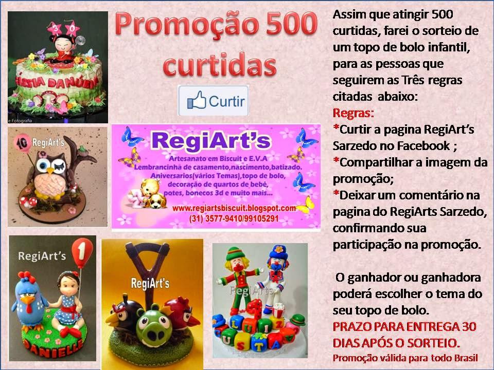 Promoção 500 curtidas